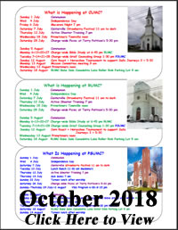 October 2018 Newsletter